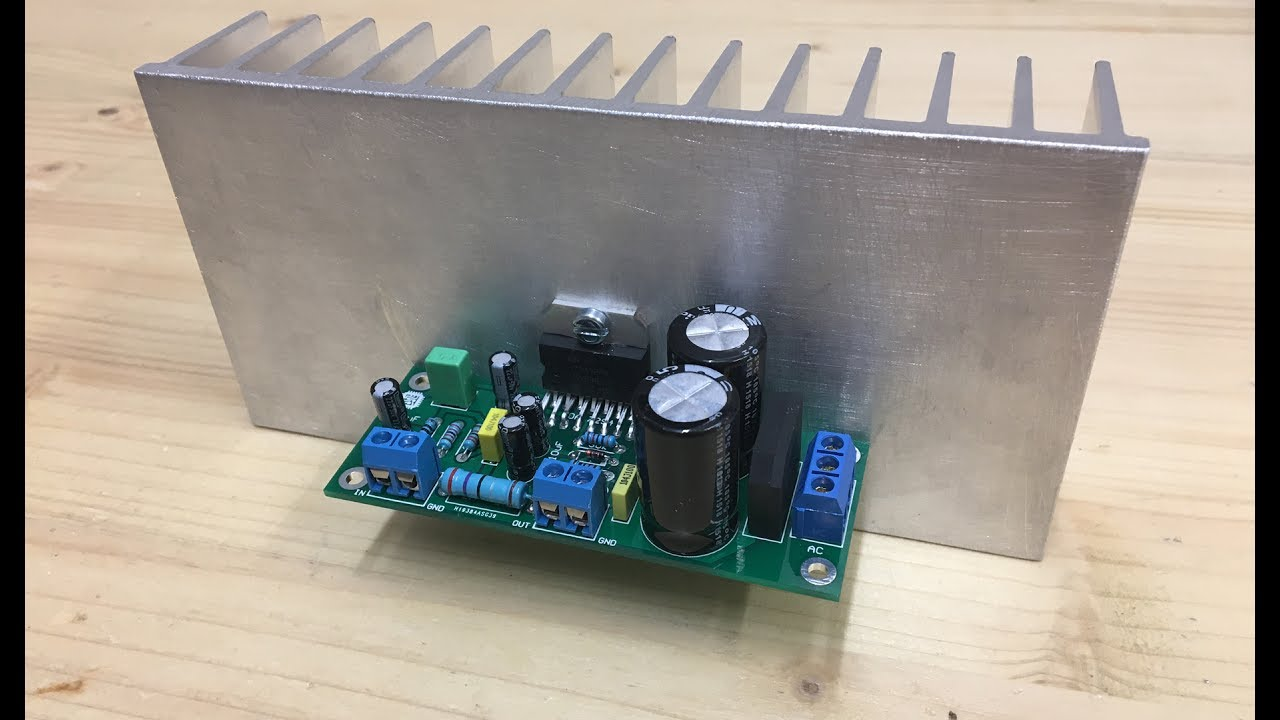 how to make tda7294 100w audio amplifier youtube rh youtube com