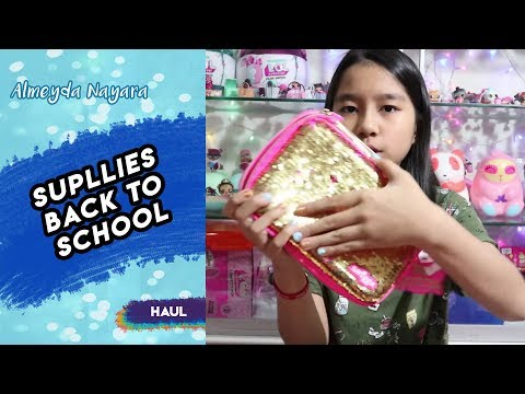 Supplies Haul Back to School 2018