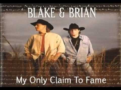 Blake & Brian - My Only Claim To Fame (1997)