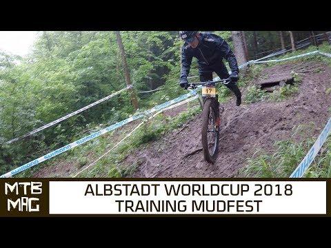 UCI XC Worldcup 2018 Albstadt Training Mud Fest