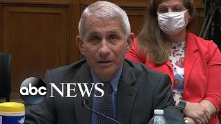 Dr. Fauci responds to Trump's comment about slowing coronavirus testing