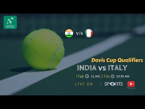 Prajnesh Gunneswaran vs Andreas Seppi | Davis Cup Qualifier