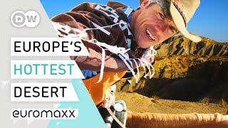 Unbearable Heat In Europe's Driest Desert   Tabernas Desert In Spain   Europe To The Maxx