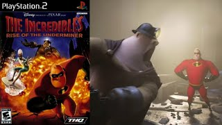 The Incredibles: Rise Of The Underminer [18] PS2 Longplay