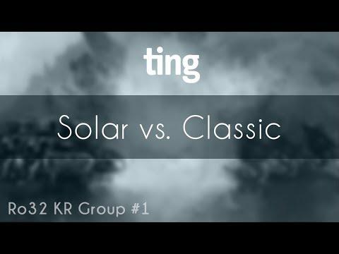 Solar vs. Classic - ZvP - TING Open Season 4 Ro32 KR Group#1