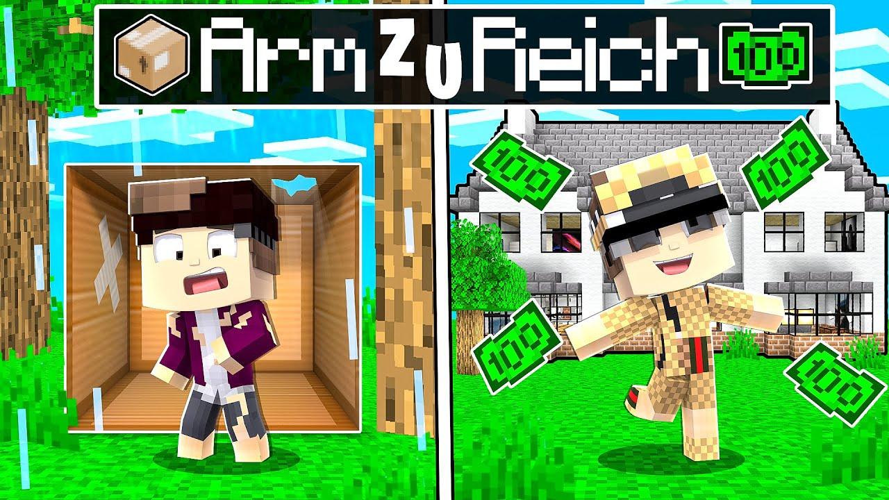 Von ARM zu REICH Story in Minecraft!