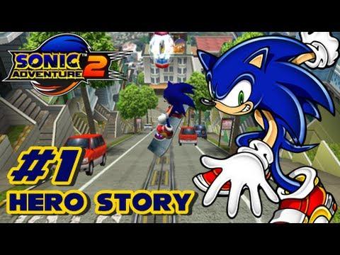 Sonic Adventure 2 HD - Hero Story - Part 1
