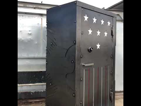 American Flag And Eagle Gun Safe | Unique, Beautiful, Custom Safes | Sturdy  Gun Sade