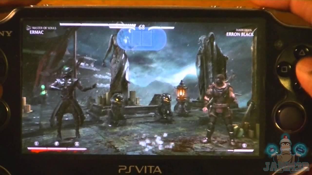 Mortal Kombat X On PS Vita [Remote Play]