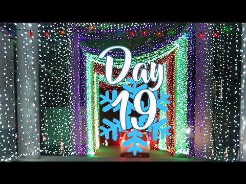 Vlogmas Day 19 - Gift of Lights at Texas Motor Speedway!