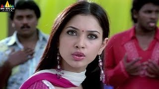 Sree Movie Scenes | Tamannah Warning to Manoj Friends | Sri Balaji Video