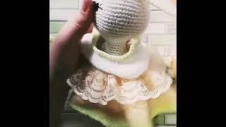 Вязаная зайка тильда. Одежда для зайки тильда.