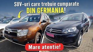 10 SUV-uri care trebuie cumparate doar din Germania - Mare atentie!!