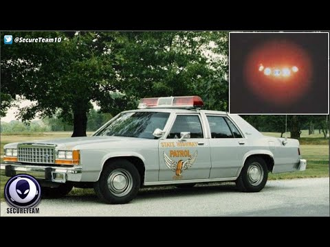 CREEPY! Notorious 1981 Police Audio Recording of UFO Over Oregon! 5/25/16