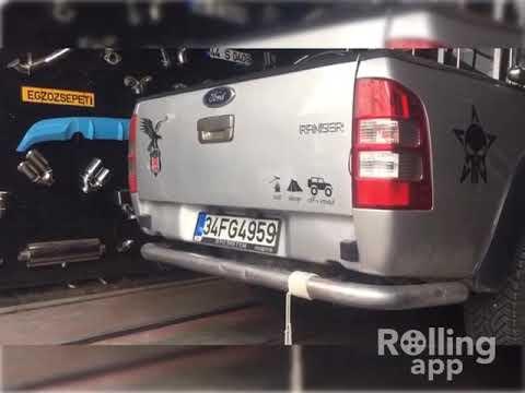 Ford Ranger 2.5 Tdci Kumandalı Dizel Cutout Egzoz Sesi