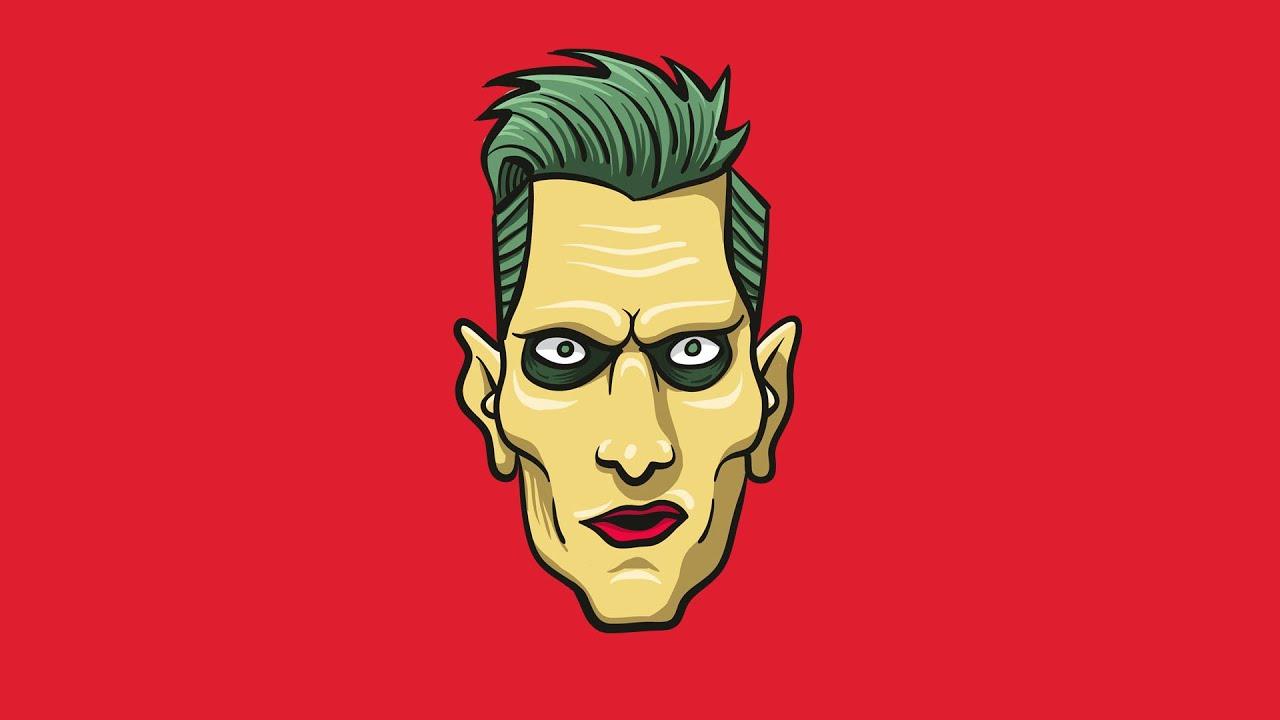 Adobe Illustrator Essentials For Character Design : Joker suicide squad character design adobe illustrator