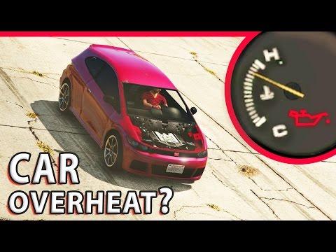 GTA V - Can a car Engine Overheat?