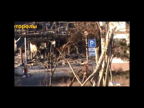Ukraine War - DPR Rebels In Heavy House To House Combat At Donetsk Airport
