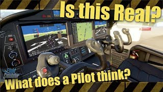 What does Pilot think of Microsoft's 2020 simulator Cockpits? | Is this real?