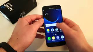 Samsung Galaxy S7 Setup and First impressions