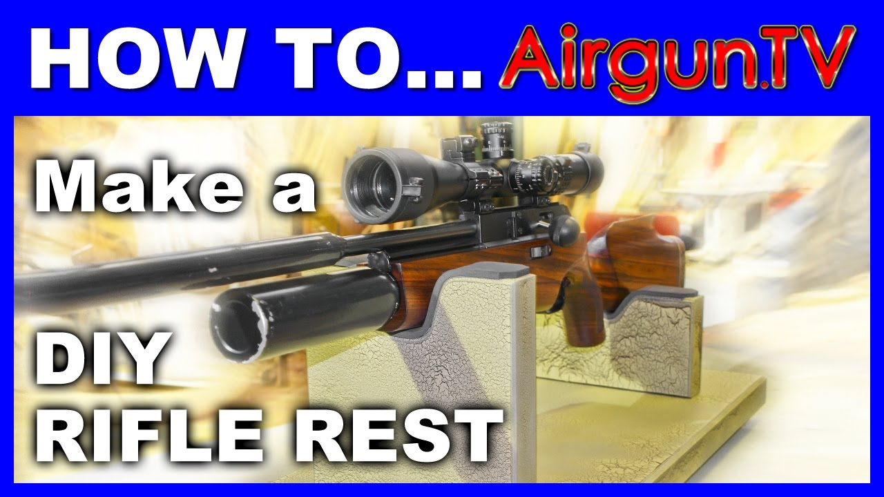 How To Make A Rifle Rest On The Cheap Youtube