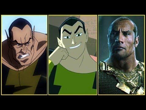 Download Black Adam Evolution in Cartoons & Movies (2018)