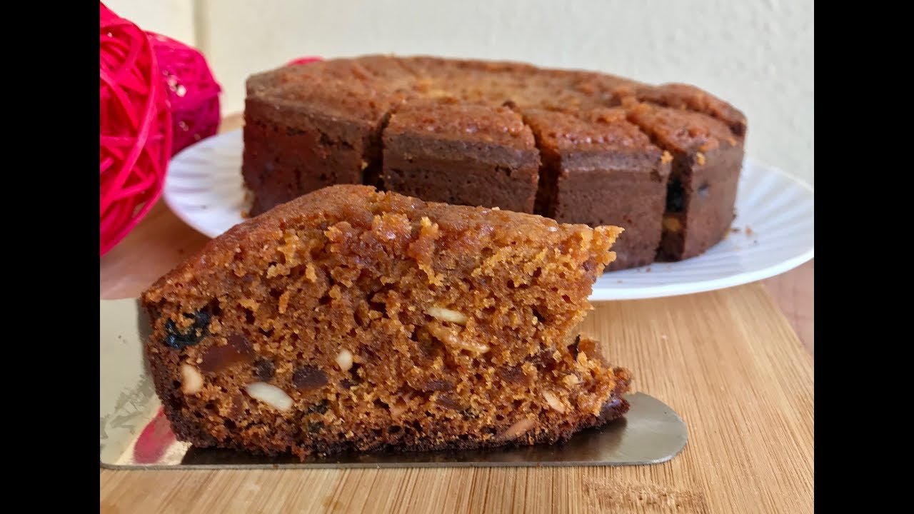 Cake Recipes In Telugu Without Oven: Plum Cake Recipe In Cooker
