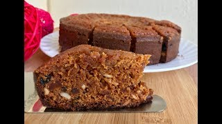 Christmas Special  | Plum Cake Recipe in Cooker | Non Alcoholic Plum Cake Without Oven| കേരളാ കേക്ക്