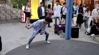 JHKTV]홍대댄스 이태영hong dae k-pop dance former dob lee ty BOOMERANG (부메랑) - WannaOne