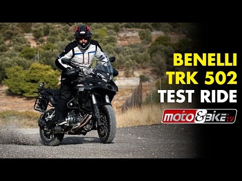Benelli TRK 502 Test-ride (English subtitles)