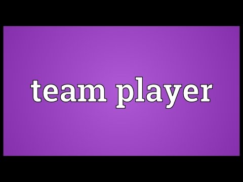 Team player Meaning