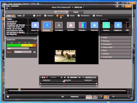 Videoeffekte mit Keyframes in Avid studio und Pinnacle Studio