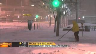 Denver in midst of monster blizzard