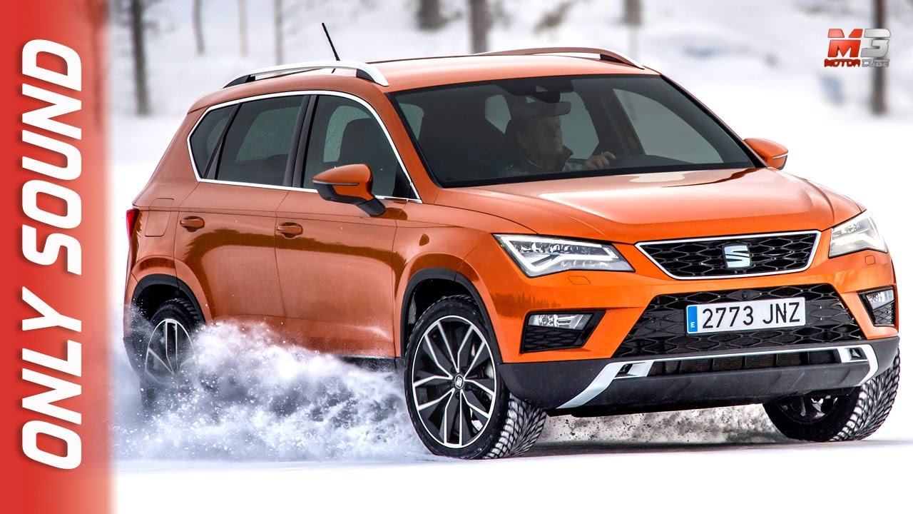 new seat ateca 4x4 leon cupra st 4x4 snow camp 2017 finland youtube. Black Bedroom Furniture Sets. Home Design Ideas