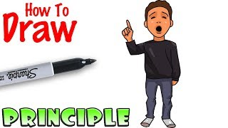 How to Draw Principle of a thing | Baldi