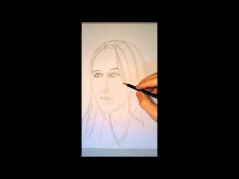 Zeichnen Lernen Gesicht Portrait 02