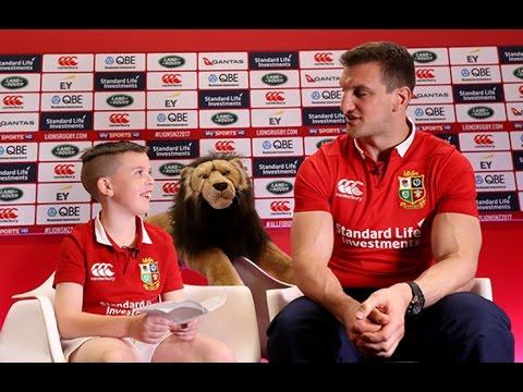 Harvey meets Sam - The #AllForOne Interview! | The British & Irish Lions