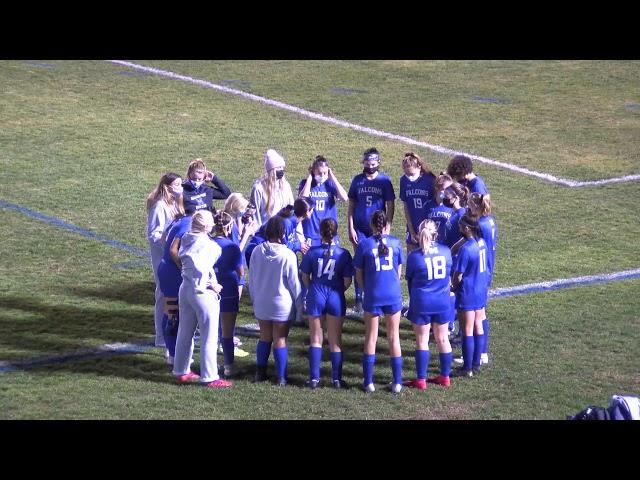 Girls Soccer Senior Night 2020