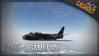 F86-F2 Sabre on Korea Solo Flying - War thunder