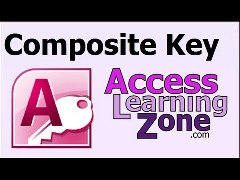 Microsoft Access Composite Key Index Tutorial