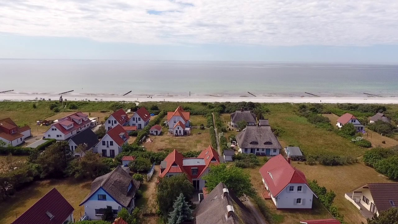 Insel Hiddensee Haus am Meer in Vitte