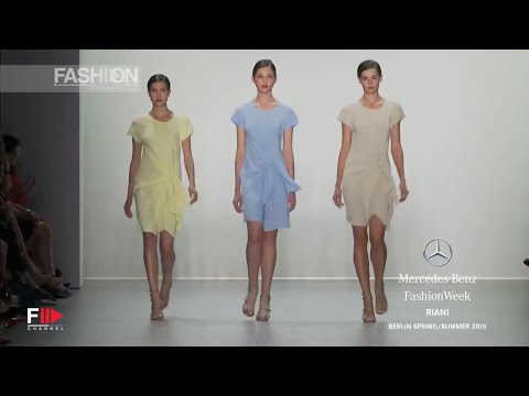 """RIANI"" Spring Summer 2015 Berlin Fashion Week by Fashion Channel"