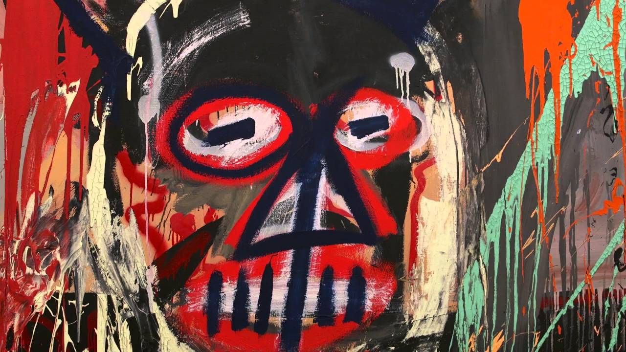 Jean-Michel Basquiat | sold for $57,285,000 | Untitled |  aka The Devil | 1982