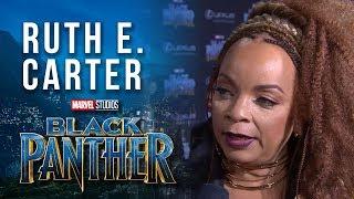 Costume Designer Ruth E. Carter on Marvel Studios' Black Panther World Premiere Red Carpet