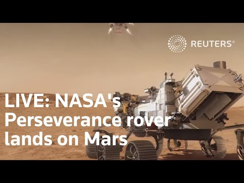 LIVE: NASA's Perseverance rover lands on Mars