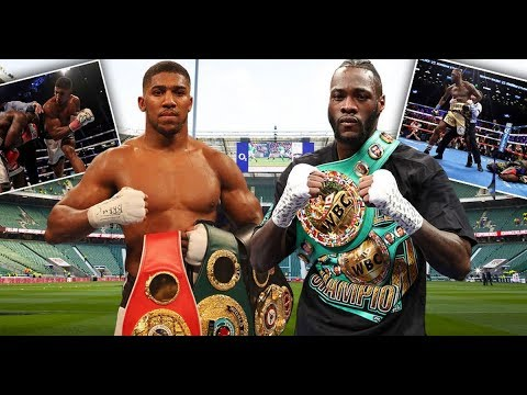 ANTHONY JOSHUA vs DEONTAY WILDER SILENCE COULD MEAN ITS ON!!