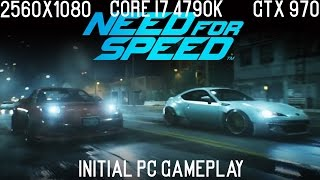 Need For Speed 2015 | PC | 2560x1080 | GTX970 | Core i7 4790K | Initial Gameplay