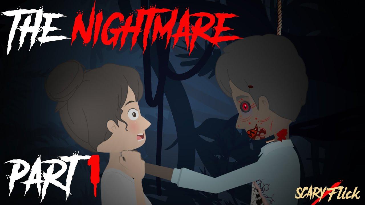 The Nightmare Part 1 I Scary Animated Horror Story In Hindi I Scary Flick E74