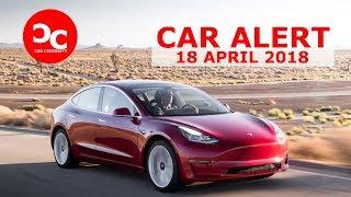 Tesla CEO Elon Musk offers rare look inside Model 3 factory