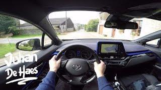 2017 Toyota C-HR Hybrid POV test drive
